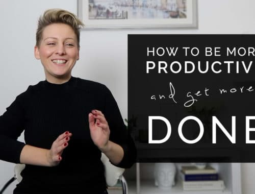 How to be more productive and get more done