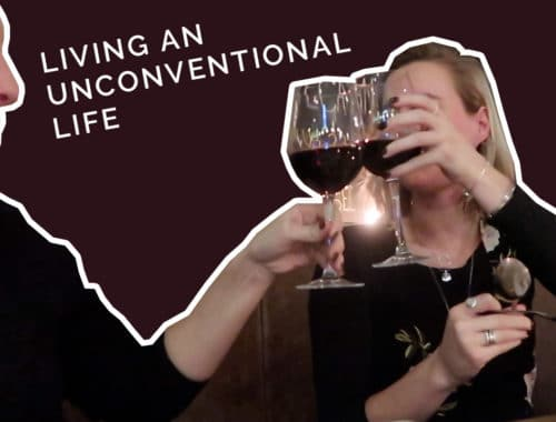 Living an unconventional life
