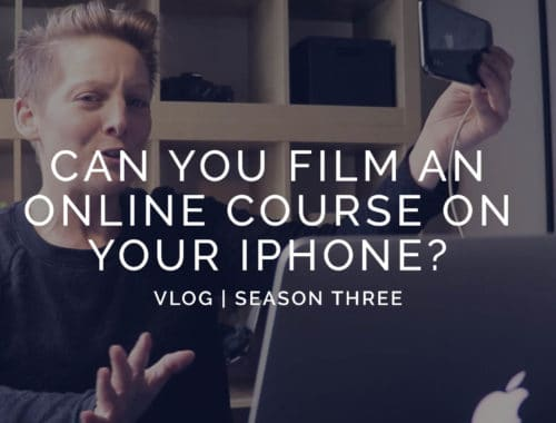 Film on your iphone
