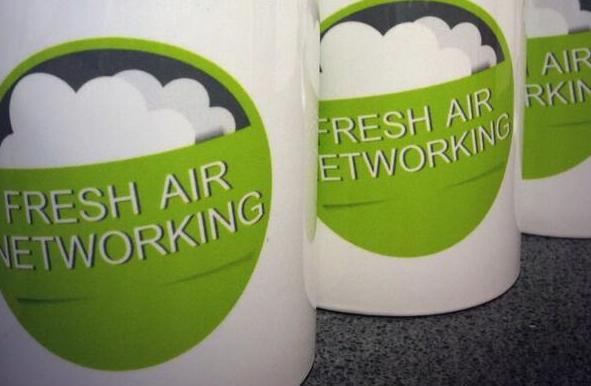Fresh Air Networking Mugs