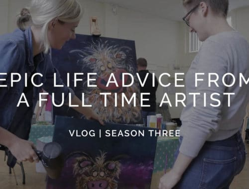 Advice from a full time artist