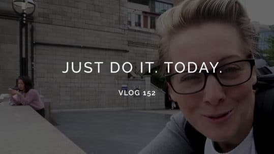 Just do it today