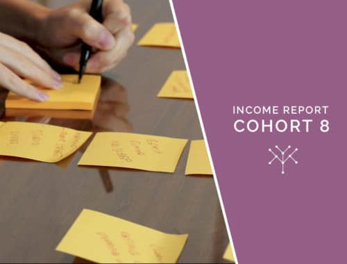Income report Cohort 8