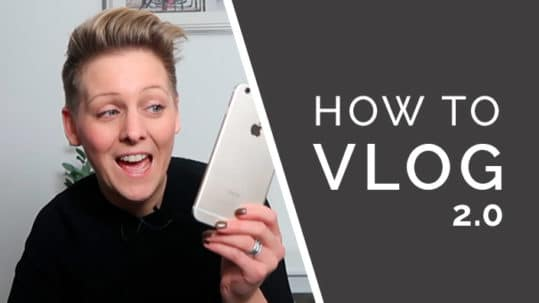 How to vlog course cover 2.0