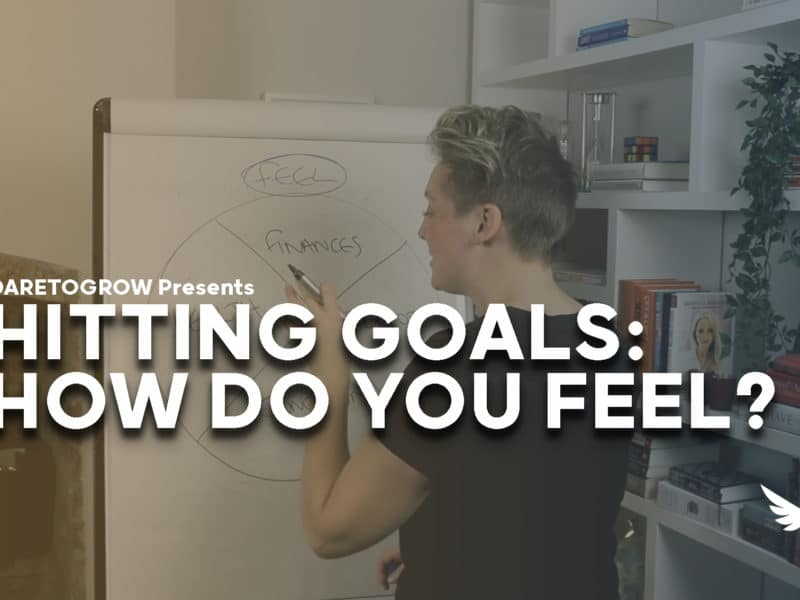 How do you feel when setting goals?