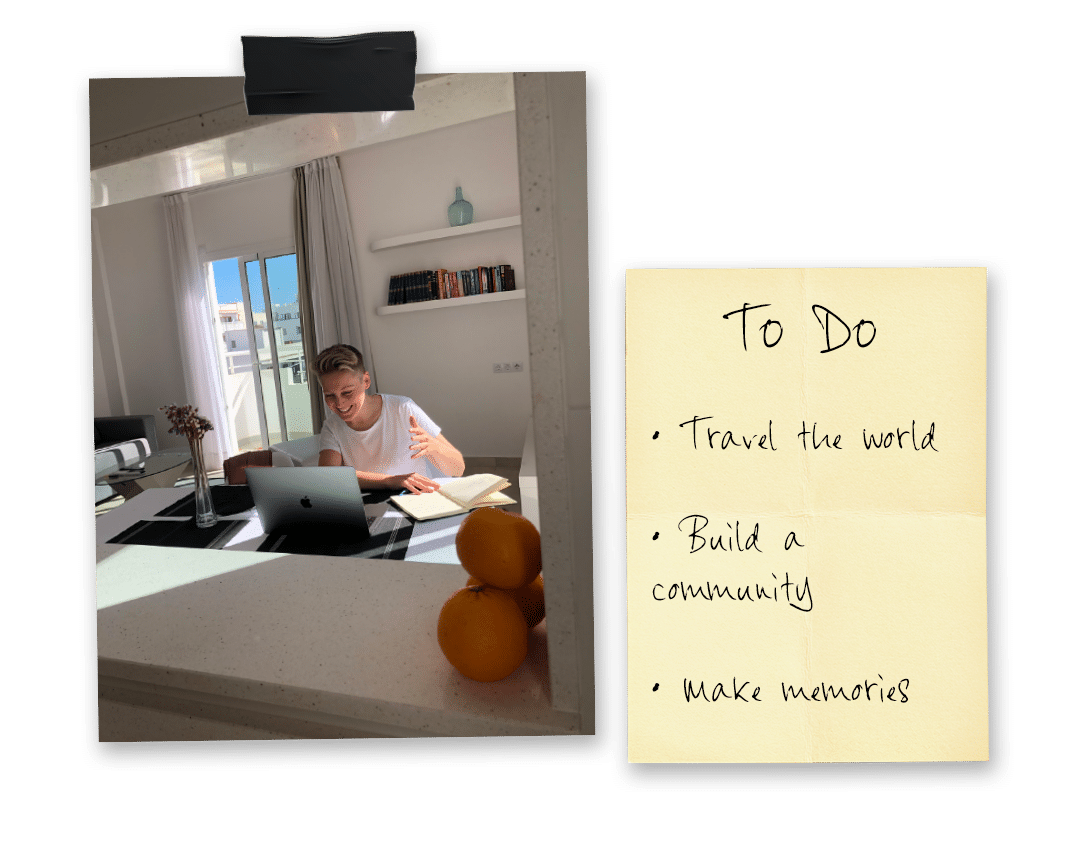 To do list and photo