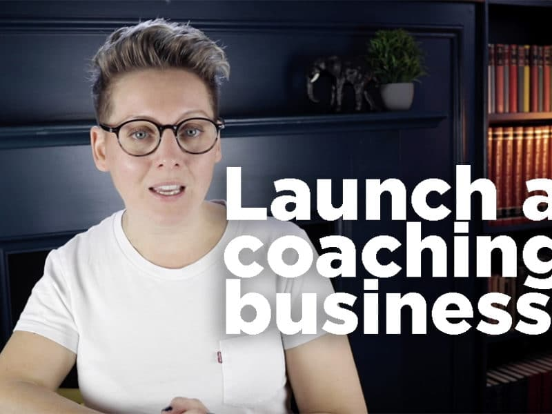 How to launch a coaching business