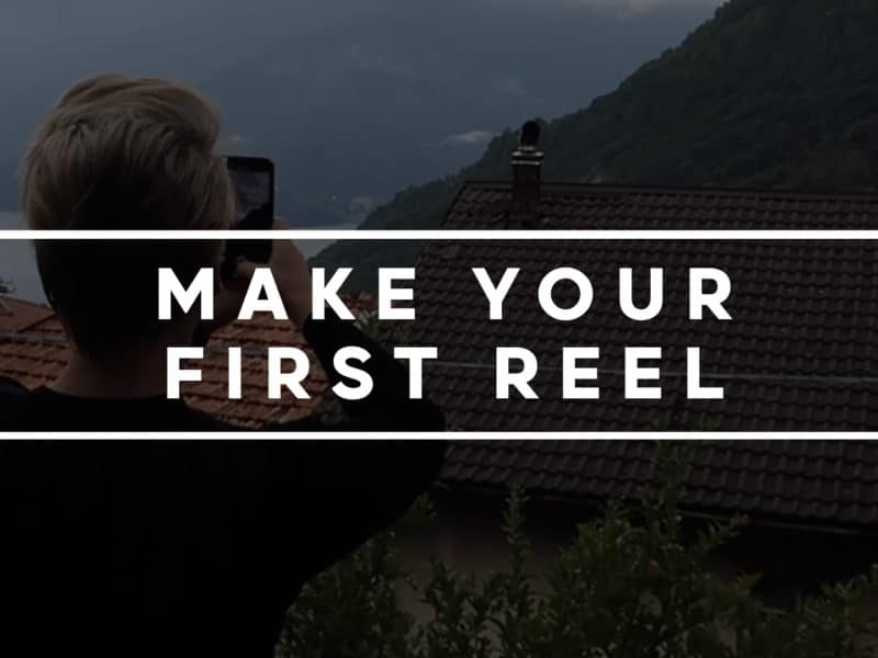 How to make a reel on instagram