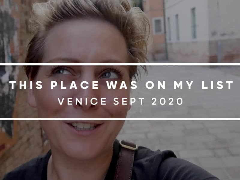 Venice Travel Vlog 2020