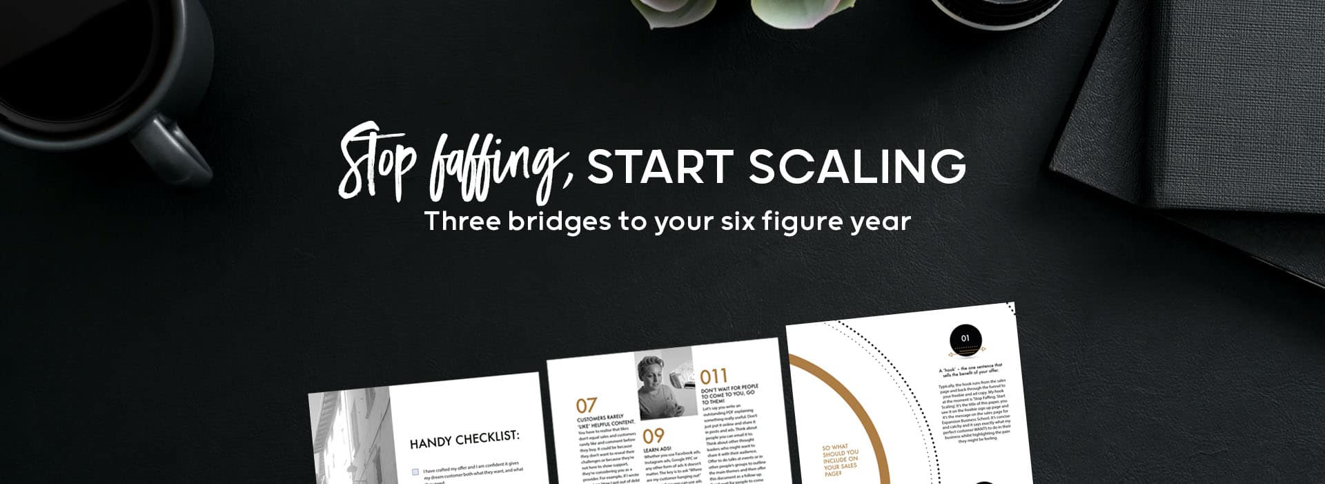 How to scale up to six figures