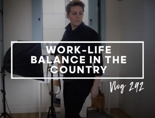 VLOG 292 - Work life balance in the country